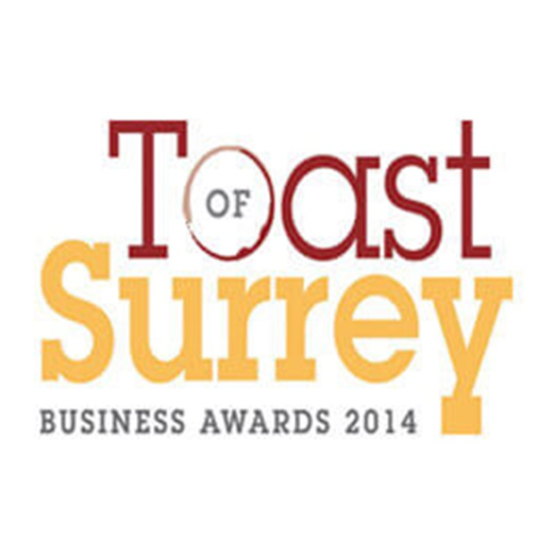 2014 Toast of Surrey - Best Business & Director of the Year