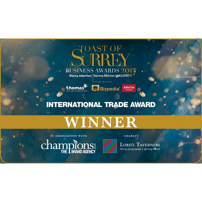 2017 Toast of Surrey Awards